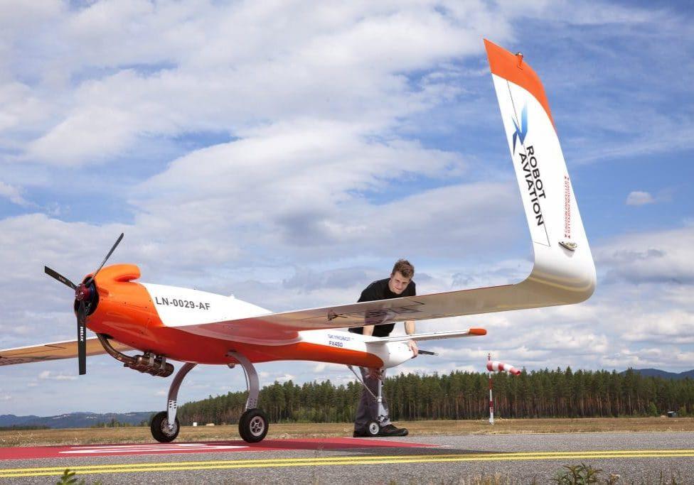 Skyrobot Robot Aviation Eggemoen 06.07.2018